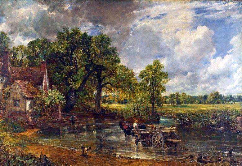 Saman Arabası – John Constable ❤️ - Constable John